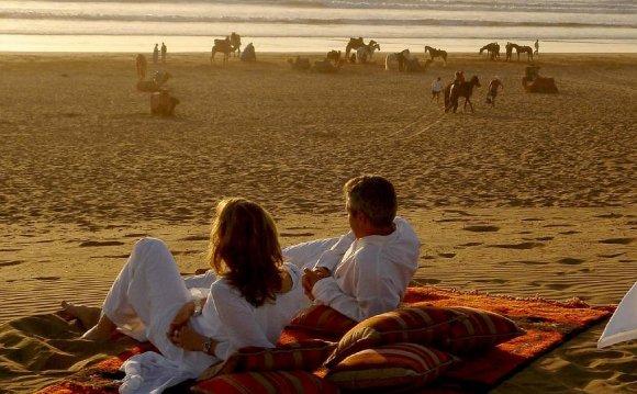 Погода в Марокко в феврале не