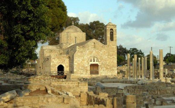 Кипр. Пафос фото