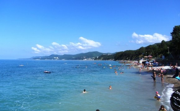 Пляжи района Туапсе